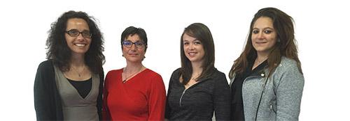 Marine BOUVARD, Véronique JUIGNET, Jessica PIGNON & Céline RYO